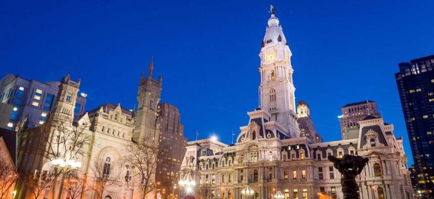 Philadelphia's landmark historic City Hall