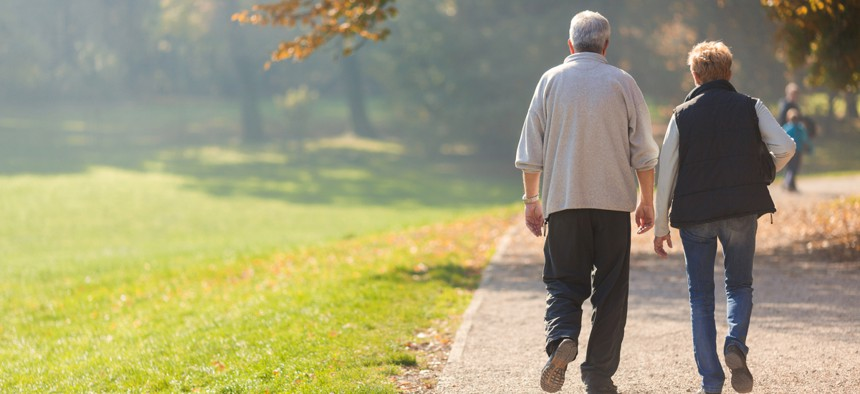 The uptick in age is attributed largely to the baby boomers nearing retirement, experts said.