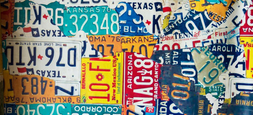 Digital plates can auto-renew a car's registration, eliminating the need for a plate sticker and a trip to the DMV.