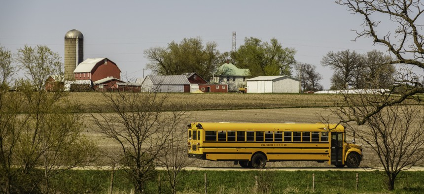 The high-school education gapactually narrowedbetween 2000 and 2015—now students are just about as likely to attain a high-school diploma whether they live in a rural or an urban environment.