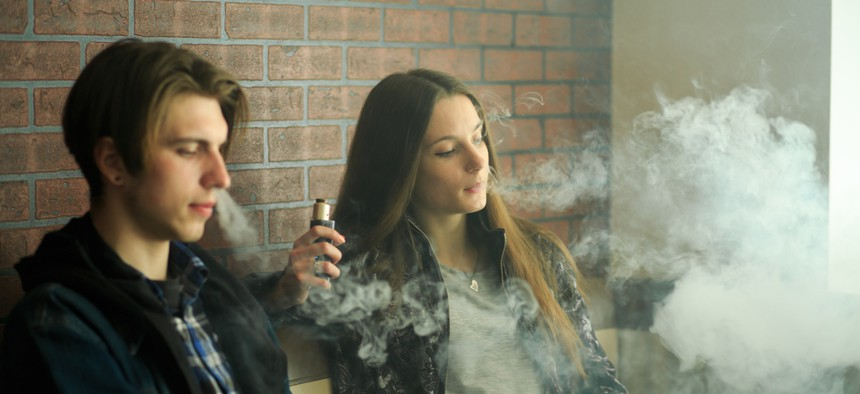 Dozens of young people who used vaping products have been hospitalizedfor respiratory problems in states including California, Illinois, Minnesota and Wisconsin.