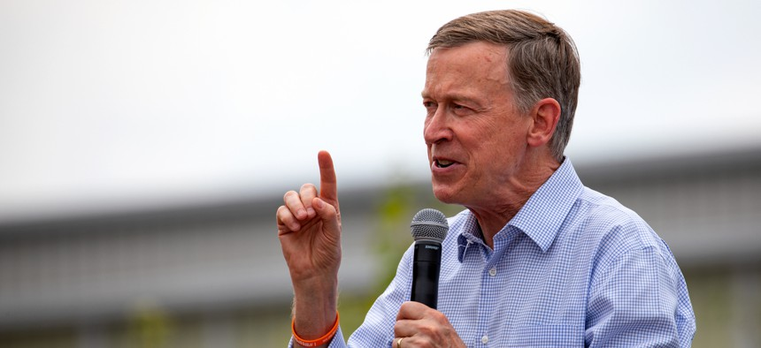 Colorado Gov. John Hickenlooper dropped out of the presidential primary race for 2020.