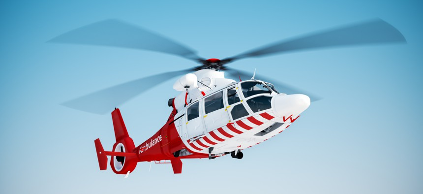 Wyoming, the reddest of Republican states and a bastion of free enterprise, thinks it may have found a way to end crippling air ambulance bills that can top $100,000 per flight.