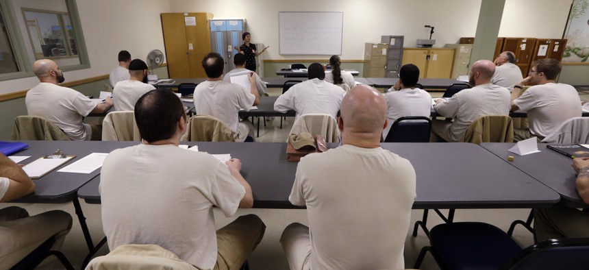 Education programs in prisons are spread throughout the country, but Illinois will be the first to require civics classes.