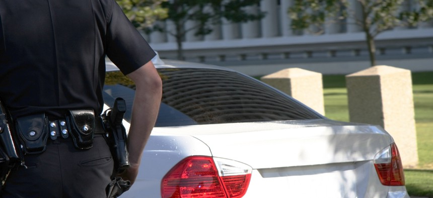 Drivers who opt in would have a code attached to their vehicle registration that would alert law enforcement officers during traffic stops that the motorist may have trouble communicating.