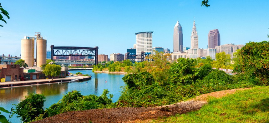 Cleveland is on the list of the top six metropolitan areas where poverty among black residents exceeds 40%, along with four other Midwestern cities.