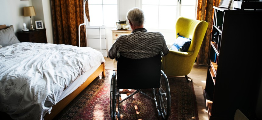 Aging in place is a major financial commitment, one that may be at odds with retirees' plans to downsize their lives and budgets and squirrel away cash in anticipation of rising health care costs.
