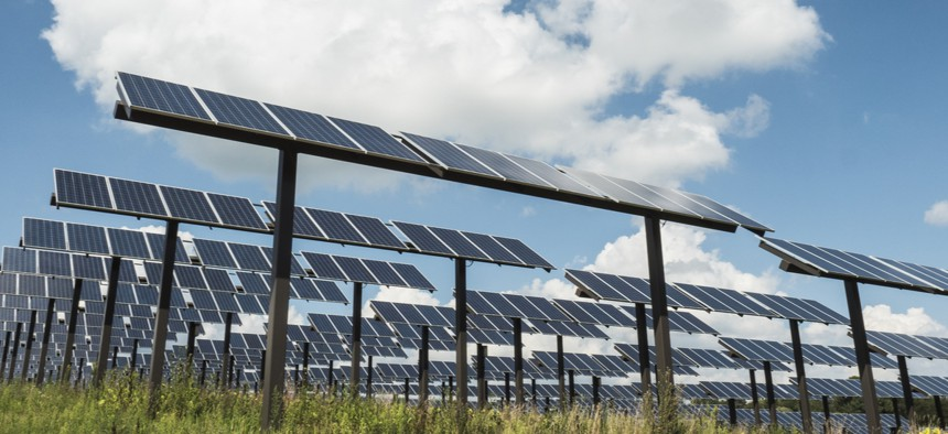 Solar was relatively easy to obtain in Stevens Point, Wisconsin, but the city did little to promote the program, so most people weren't aware it was an option.