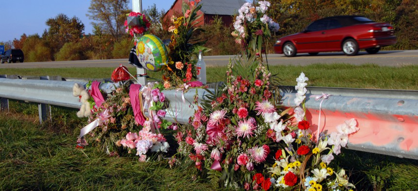 There is no federal law governing roadside memorials, and state policies differ widely from place to place.