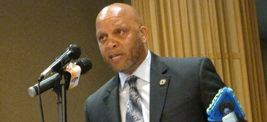 Former Atlantic City Mayor Frank Gilliam Jr., who resigned after pleading guilty to wire fraud.