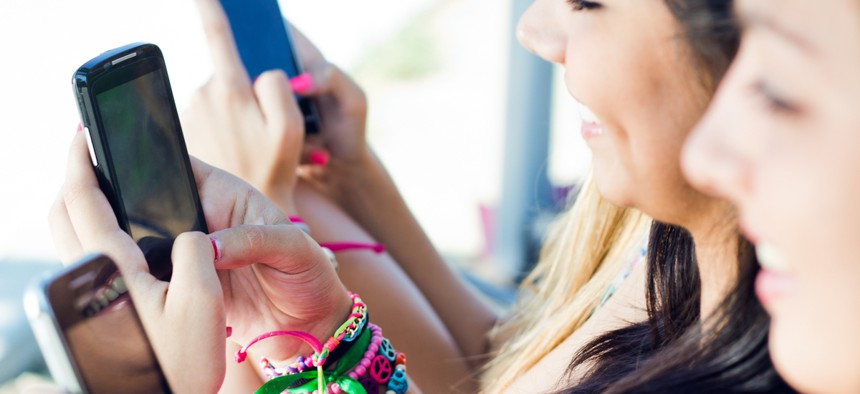 No states currently place age limits on cell phone usage.