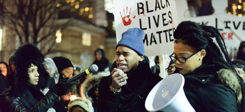 """""""We are still fighting many of the same battles as Dr. King did in his day."""""""