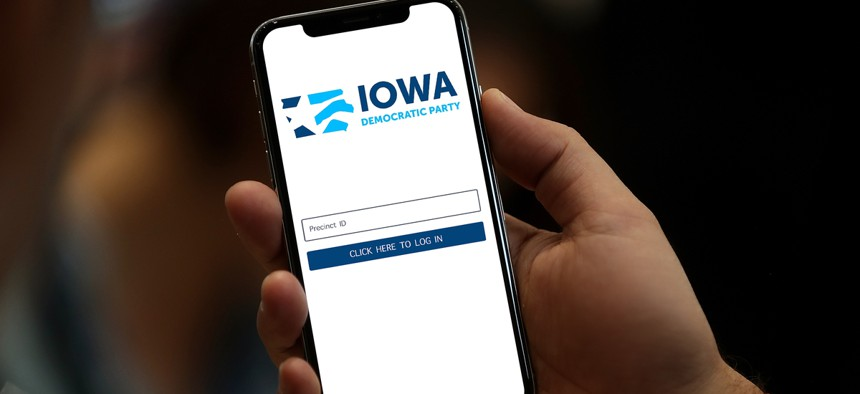 Results were delayed because of a coding error by a company the Iowa Democratic Party hired to build an app for precincts to report results.