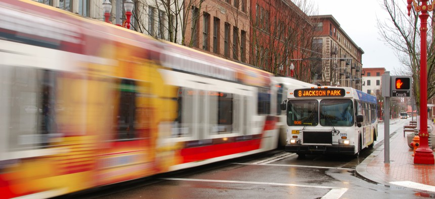 Portland streets will soon prioritize public transit.