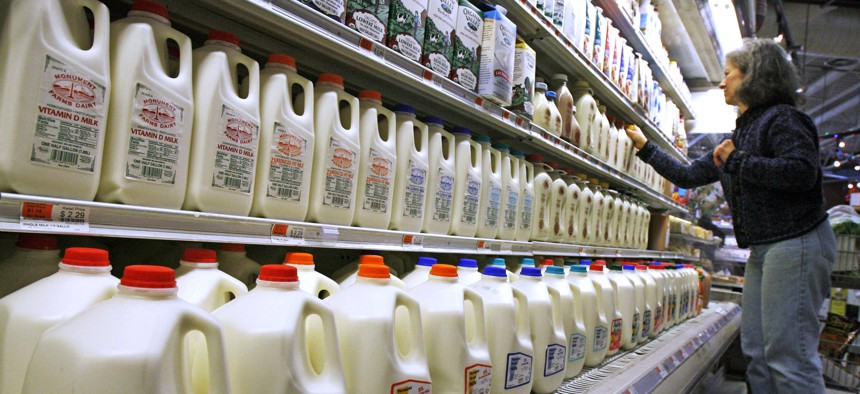 """Defining """"milk"""" has become more complicated and contentious as almond, oat, soy and other plant-based alternatives compete for customers and dairy farmers struggle."""