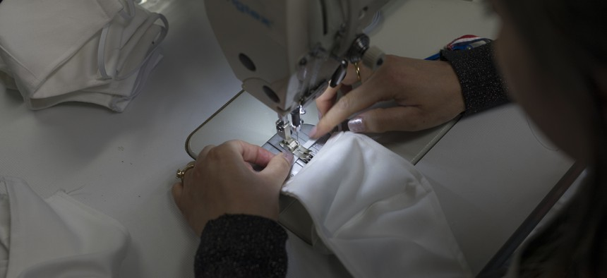 Across the country, people are hand-sewing surgical masks and 3D-printing face shields.