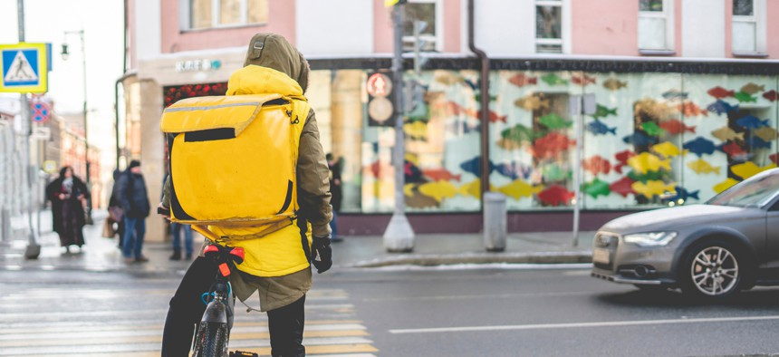 Gig economy workers have been hard hit financially by the pandemic.