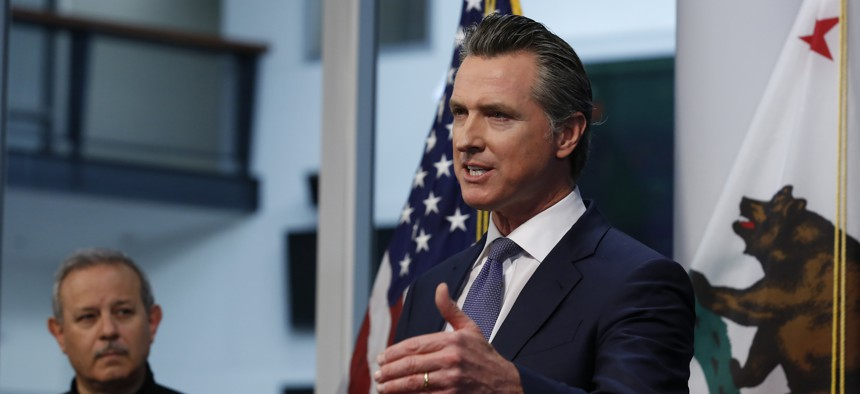 California Gov. Gavin Newsom issued the first statewide stay at home order. Aggressive actions like this are examples of what state and local governments need to do to slow the spread of the coronavirus.