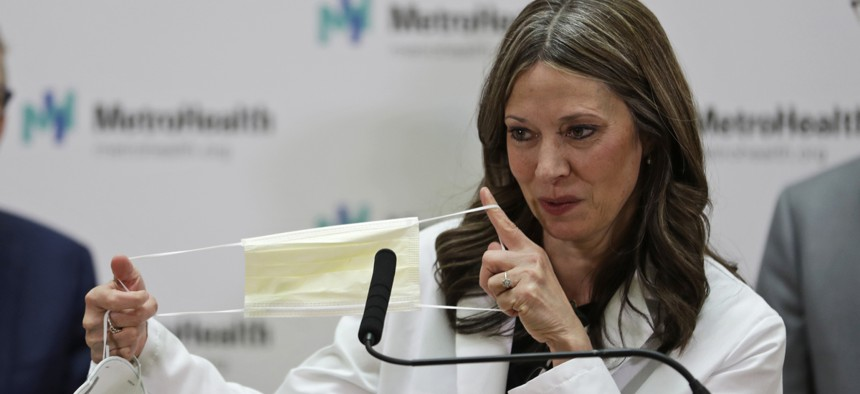 Amy Acton quit as director of the Ohio Department of Health after a barrage of criticism over her policies to contain the spread of coronavirus in the state.
