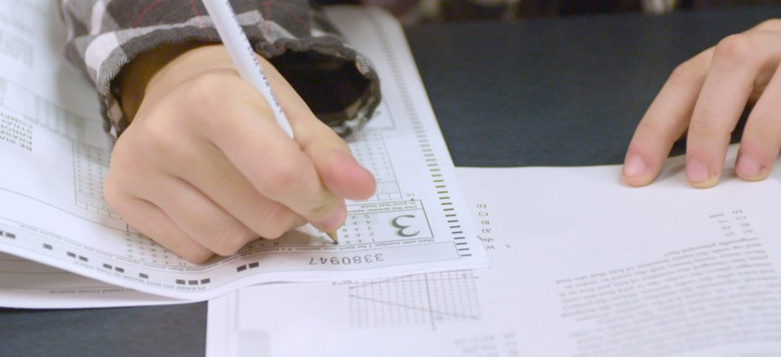 The request must be approved by the U.S. Department of Education, which this spring waived testing requirements for all states during the current school year because of mass closures related to the pandemic.