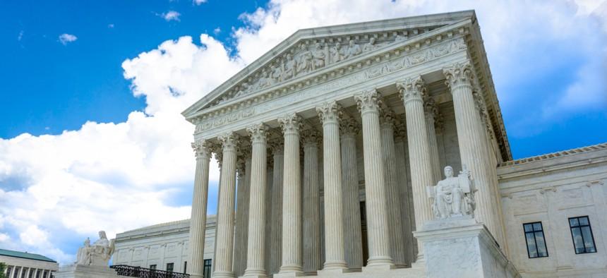 The Supreme Court in Washington, D.C.