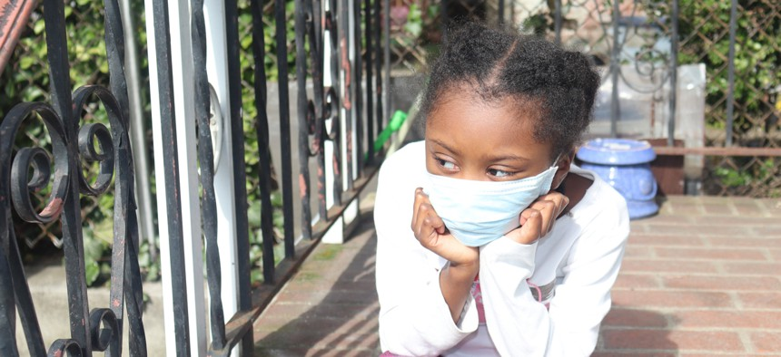 Almost 100,000 chldren tested positive for coronavirus in the last two weeks of July.