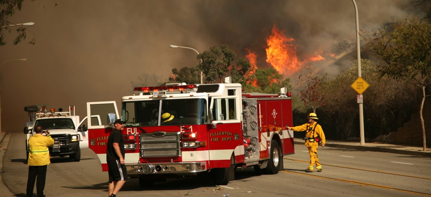 One suspected or positive case in a camp will mean many other firefighters will need to be quarantined, unable to work.