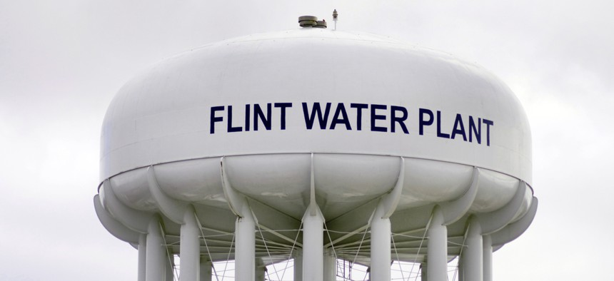 Flint residents reached a settlement with the state for $600 million.