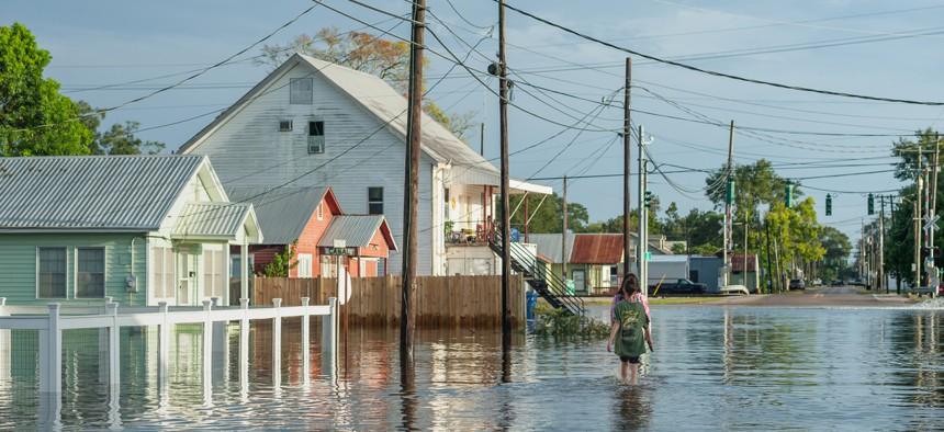 Hurricane Laura left much of Louisiana flooded.