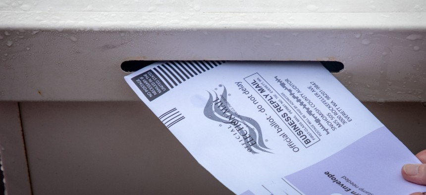 Attorneys general urged people not to come to the polls on November 3 if they have already voted by mail.