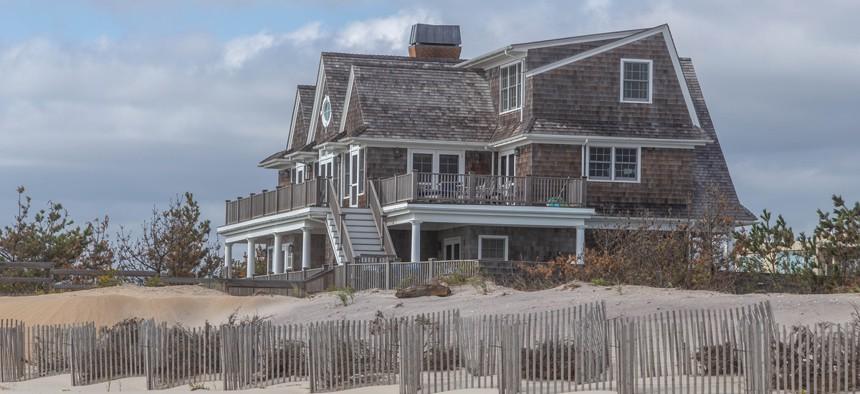 A Hamptons vacation home
