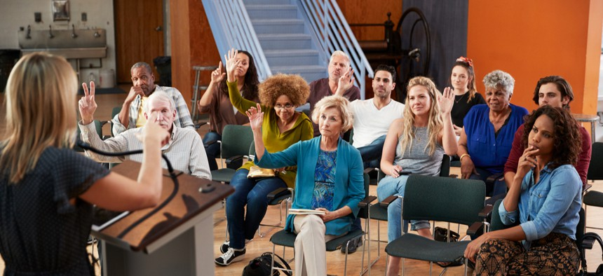 Some communication experts recommend focus groups for hard-to-reach residents.