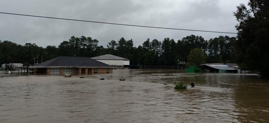Floods overwhelmed Baton Rouge in 2016.