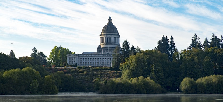 Washington State Capitol in Olympia