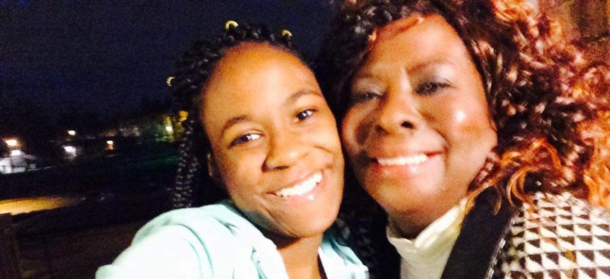 Sue Williams-Ward—pictured with her granddaughter Tamarya Burnett—was a home health aide who died of COVID-19 on May 2 after six weeks in the hospital.