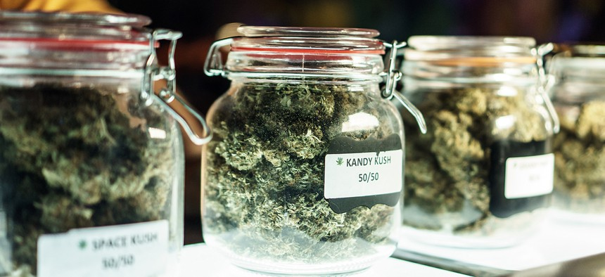 Four states legalized recreational marijuana on Tuesday.