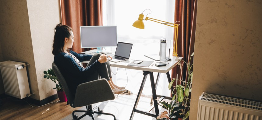 Telework has primarily benefited people who are white and highly educated. Policymakers must work to policymakers to ensure that those who can't work remotely also reap some of the benefits of this societal shift.