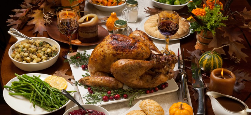 Public health officials are warning people not to host large Thanksgiving gatherings this year.