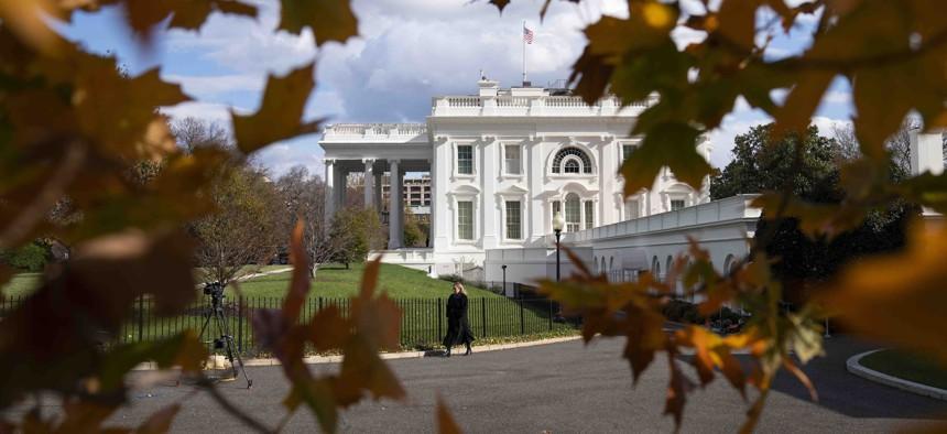 A view of the White House, Tuesday, Nov. 17, 2020, in Washington.