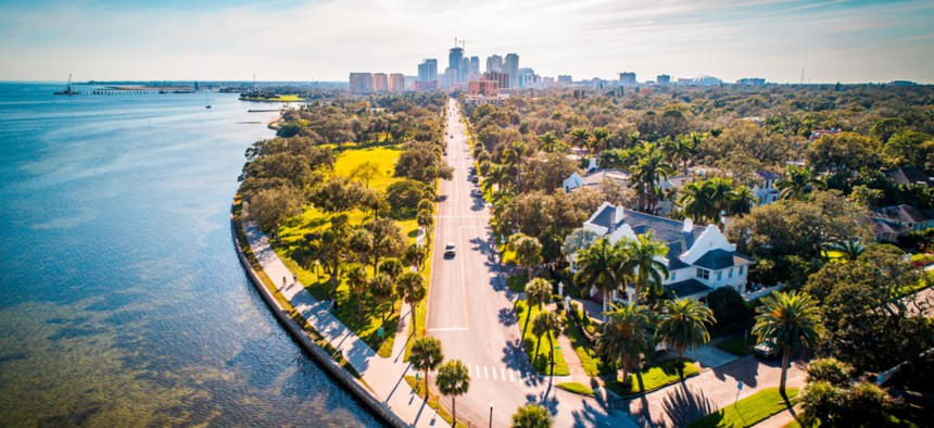 St. Petersburg, Florida.