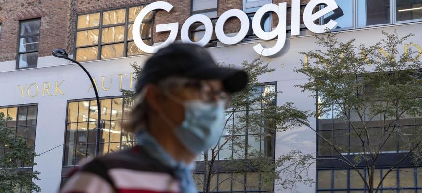 Google offices in Chelsea, Midtown Manhattan, New York City on Oct. 14, 2020.