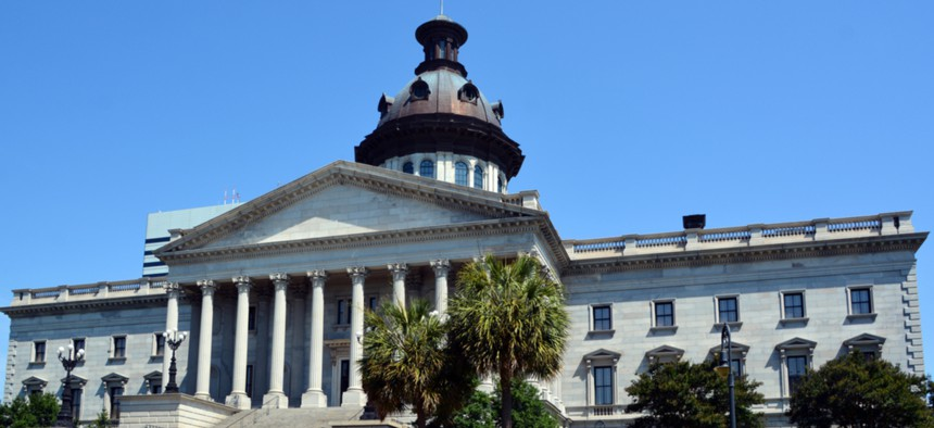 The South Carolina statehouse in Columbia.