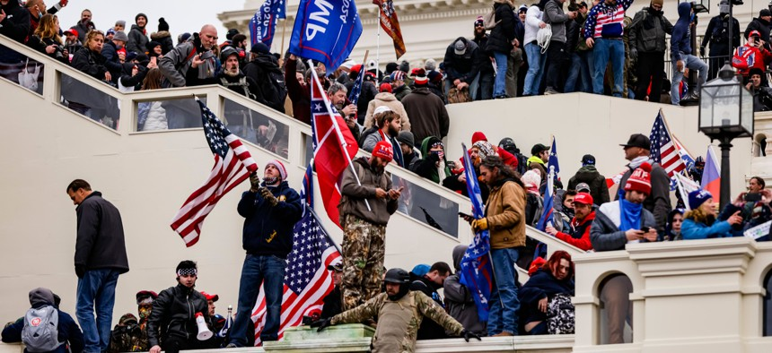 Trump supporters stormed the U.S. Capitol Building on Wednesday.