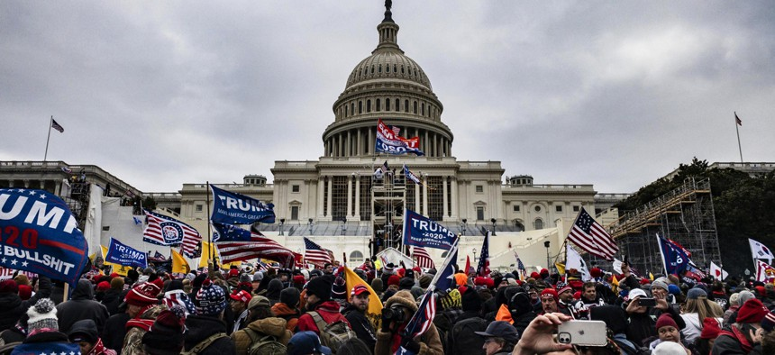 Pro-Trump supporters violently breached the U.S. Capitol Building on Wednesday.