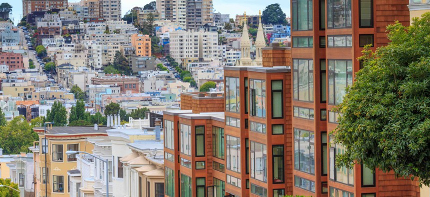 Housing in San Francisco.