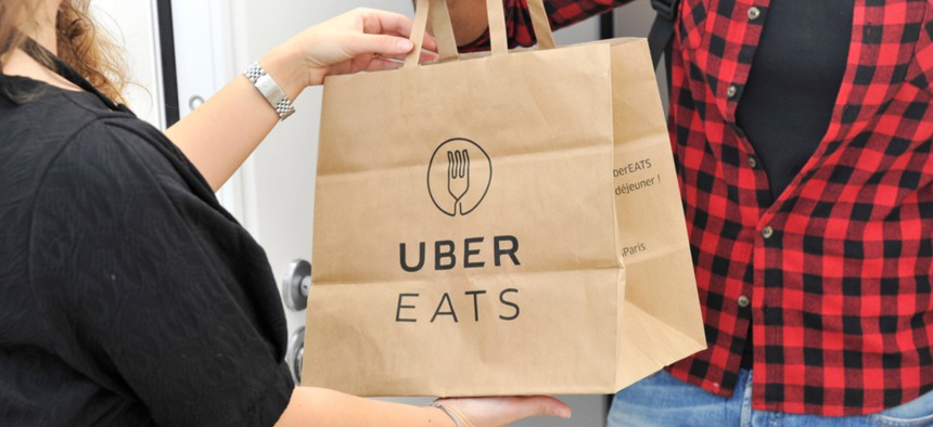 Uber Eats, DoorDash and other apps often take a cut of up to 30%. Baltimore's new policy limits that to 15% of the total order cost.
