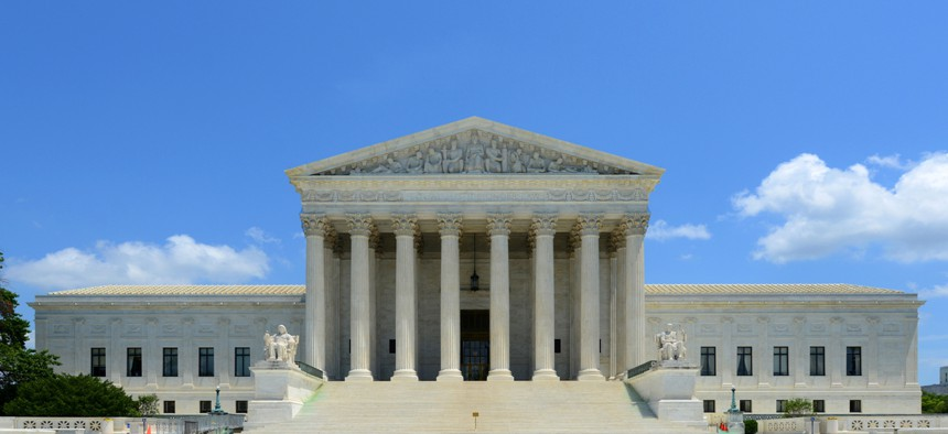 United States Supreme Court Building.