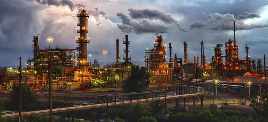 A refinery facility in Colorado.