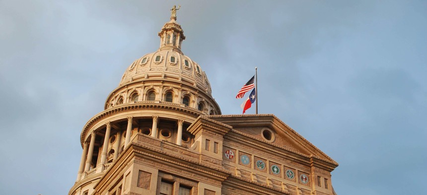 Texas State Capitol Building.