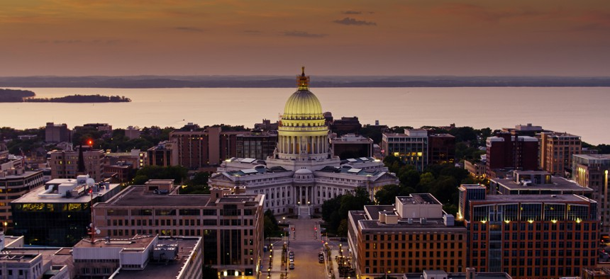 The Wisconsin State Capitol reopened on May 3.